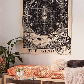 Star Tarot Tapestry | Urban Outfitters
