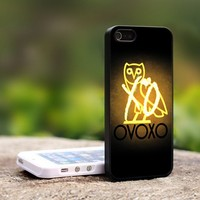 Drake Weeknd XO OVO ovoxo-For iPhone 5 Black Case Cover