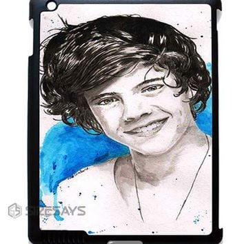 Harry Style One Direction ipad case, Best Ipad Mini Case, iPad Pro case, Custom Cases For Iphone 6, Phone Cases For Samsung Galaxy S5
