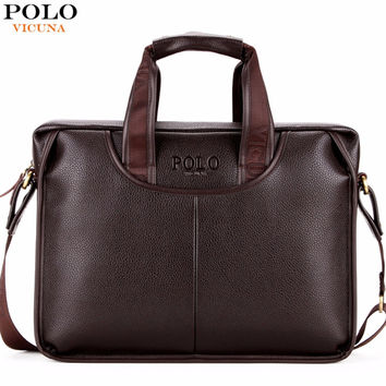Classic Design Large Size Leather Briefcases Men Casual Business Man Bag Office Briefcase Bags Laptop Bag