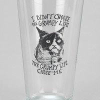 Grumpy Cat Pint Glass - Urban Outfitters