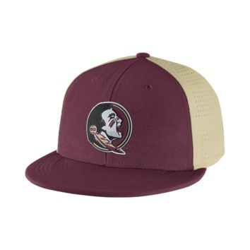 Nike College Players True Swoosh Flex (Florida State) Fitted Hat Size FLX