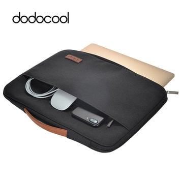 """dodocool 13 Inch Computer Laptop Bag Handbag Shell Bag Protective Case Pouch Cover For 13"""" Macbook Pro Air 12.9"""" iPad Pro More"""
