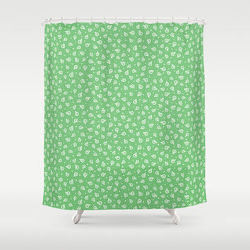 She sells sea shells Shower Curtain by Leanne Friedberg