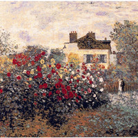 The House Of Claude Monet European Wall Hanging