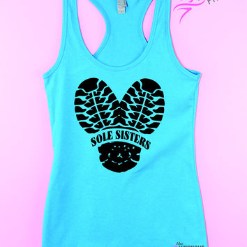Sole Sisters Running tank