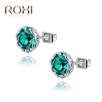 Roxi Trendy Crystal Animal Earrings For Women