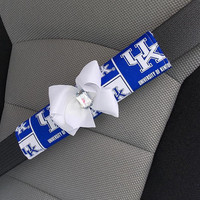 Seat Belt Cover University of Kentucky UK