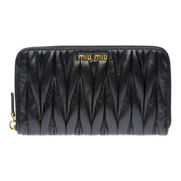 Miu Miu e-store · Accessories · Wallets · Wallet 5M0506_N88_F0002