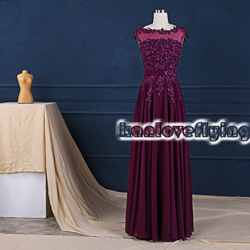 elegant eggplant purple bridesmaid dresses,prom dresses,chiffon bridesmaid dress,formal dress,evening dresses,mother of the bride dress