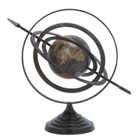 Metal Globe with Beautiful Stable Design & Stable Base