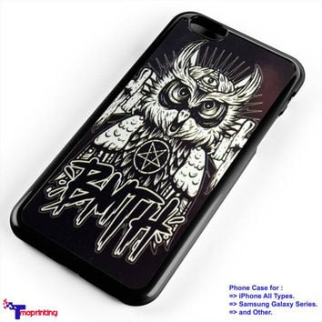 Bring Me The Horizon Owl Logo - Personalized iPhone 7 Case, iPhone 6/6S Plus, 5 5S SE, 7S Plus, Samsung Galaxy S5 S6 S7 S8 Case, and Other