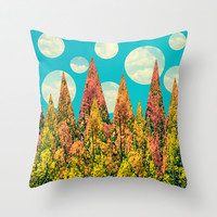 Day Throw Pillow by SensualPatterns