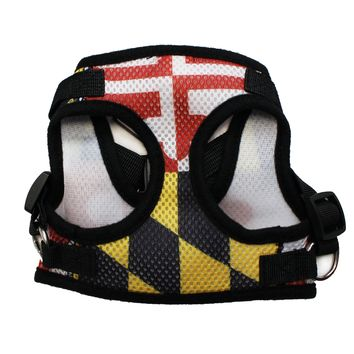 Maryland Flag / Dog Harness