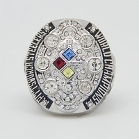 2008 Super Bowl Pittsburgh Steelers Championship Ring