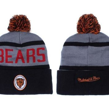 ESBON Chicago Bears Beanies New Era NFL Football Hat M&N