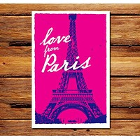 Love From Paris Poster