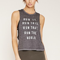 Active Run Graphic Muscle Tee | Forever 21 - 2000152810