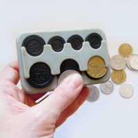 Vintage Russian coin holder.