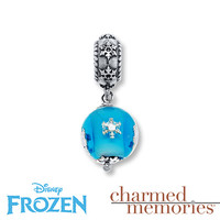 Charmed Memories Frozen Snowflake Charm Sterling Silver