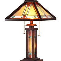 Arts & Crafts Aaron Table Lamp