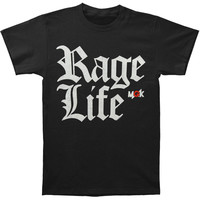 Machine Gun Kelly (Music) Men's  Rage Life T-shirt Black Rockabilia