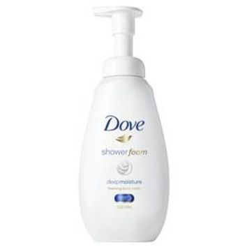 Dove Shower Foam Deep Moisture Body Wash - 13.5oz