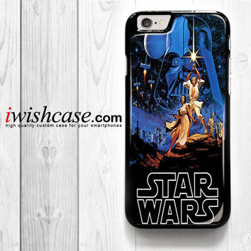 Star Wars Millenium Falcon for iPhone 4 4S 5 5S 5C 6 6 Plus , iPod Touch 4 5  , Samsung Galaxy S3 S4 S5 S6 S6 Edge Note 3 Note 4 , and HTC One X M7 M8 Case