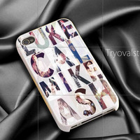 5 second of summer galaxy nebula iphone case ,samsung case for iphone 4/4S,5/5S,5C Accesories