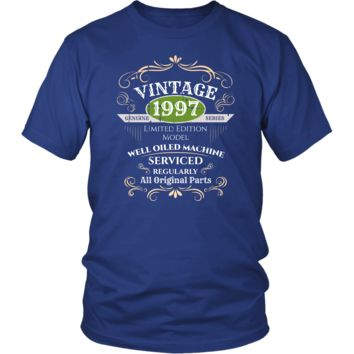 Men's Vintage 1997 21st Birthday T-Shirt Gift