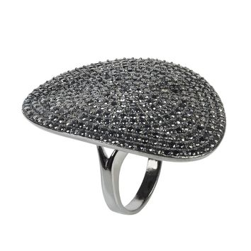 St. Tropez Black Oxidized Ring