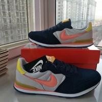 """Nike Internationalist"" Unisex Retro Casual Multicolor Sneakers Fashion Couple Running Shoes"