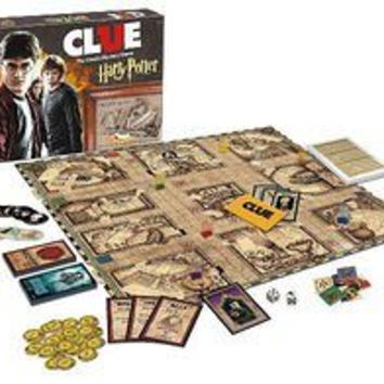 Harry Potter Clue Board Game USAopoly : Booksamillion.com