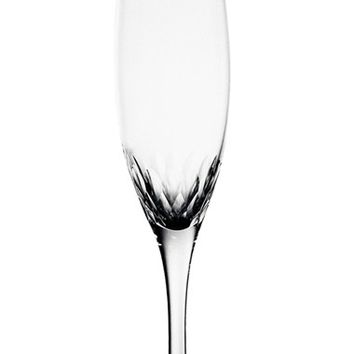 Orrefors 'Prelude' Crystal Champagne Flute - White