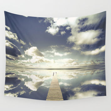Vanity Wall Tapestry by HappyMelvin