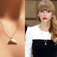 Taylor Swift Airplane Charm Necklace