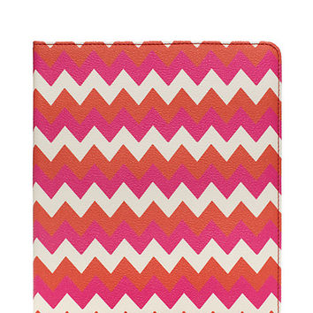 Kate Spade Chevron Ipad Folio Multi ONE