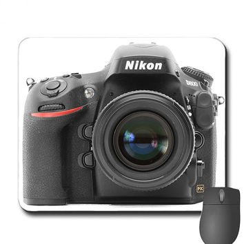 Custom Made Mouse Pad Mouespad Nikon D800 DSLR for Photography Lovers