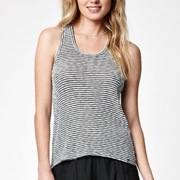 Volcom Lost Together Stripe Racerback Tank Top at PacSun.com