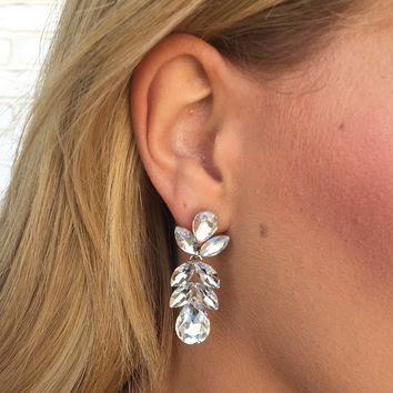 Crystals On A Vine Earrings