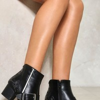 CLASH CITY ROCKERS STUDDED BOOT