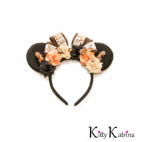 Chip and Dale Disney Ears Headband, Mouse Ears, Chip and Dale Mickey Mouse Ears, Disney Headband, Disney Bound, Disneyland, Disney World
