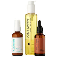 Josie Maran Cleanse, Nourish, Pick Your Protect