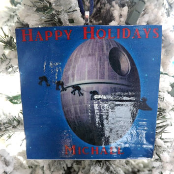 Star Wars Deathstar Geekery Gift-Holiday Personalized Ornament