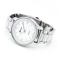 Diamond glass metal watch (3 colors)