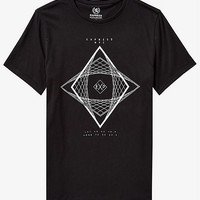 Black Kaleidoscope Graphic Tee from EXPRESS
