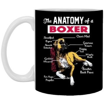 Anatomy of a Boxer Dog - Funny for Boxer lover