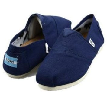 DCCKO03T TOMS UNISEX FLAT SHOES CLASSICS FLAT TOMS SHOES