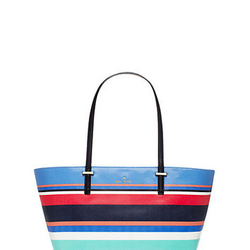 Kate Spade Cedar Street Stripe Small Harmony Multi Stripe ONE