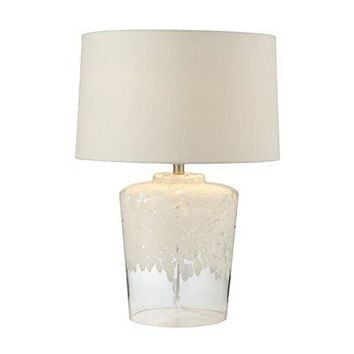 Flurry White Table Lamp